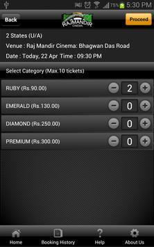 Rajmandir Cinema apk screenshot