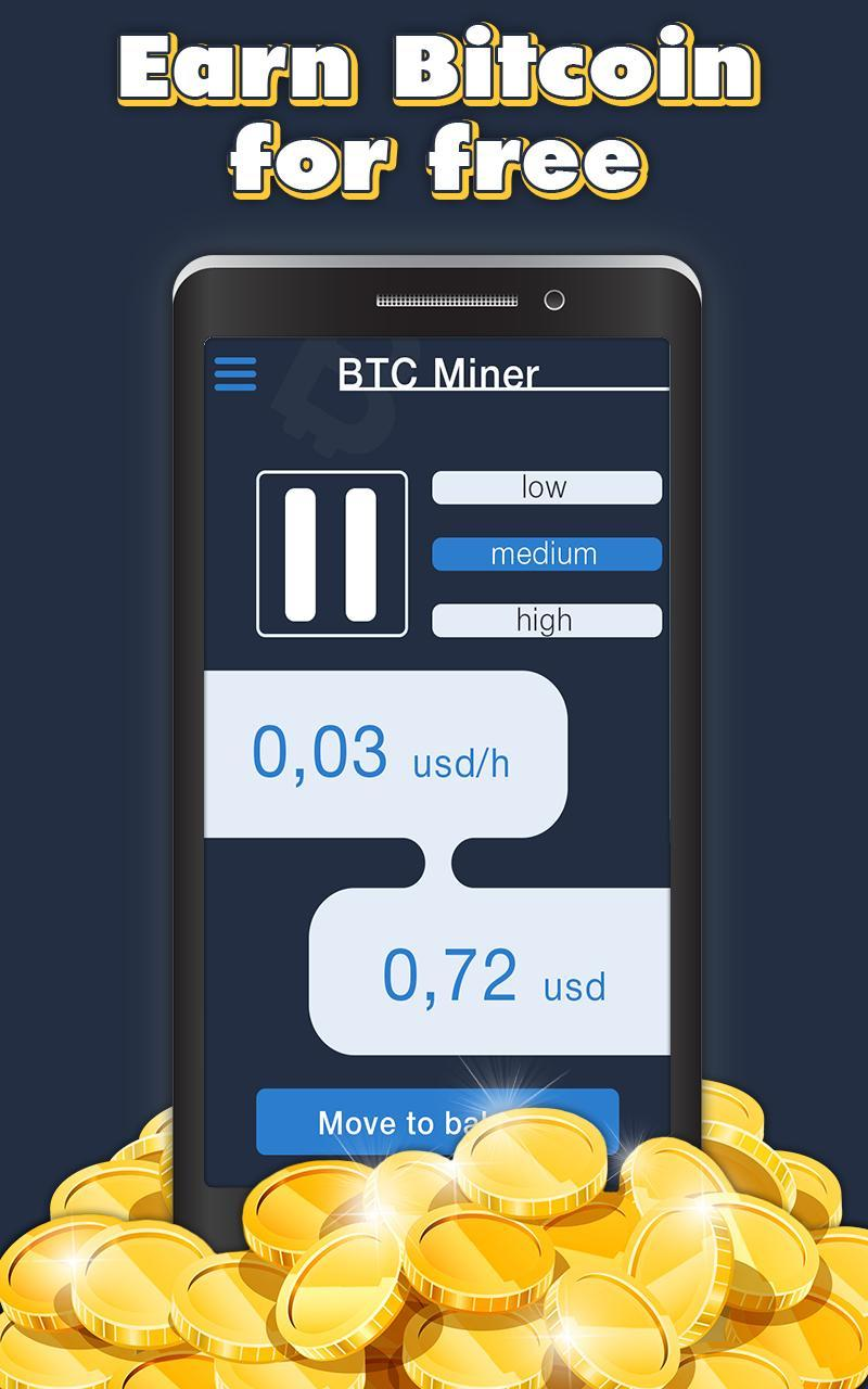 Earn Free Bitcoin - BTC mining app for Android - APK Download