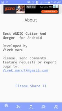 MP3 Cutter & Joiner screenshot 5