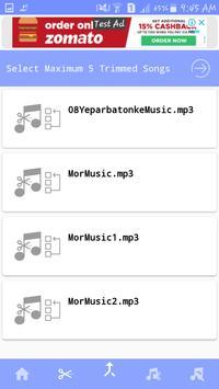 MP3 Cutter & Joiner screenshot 2