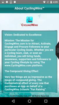 cyclingwins apk screenshot