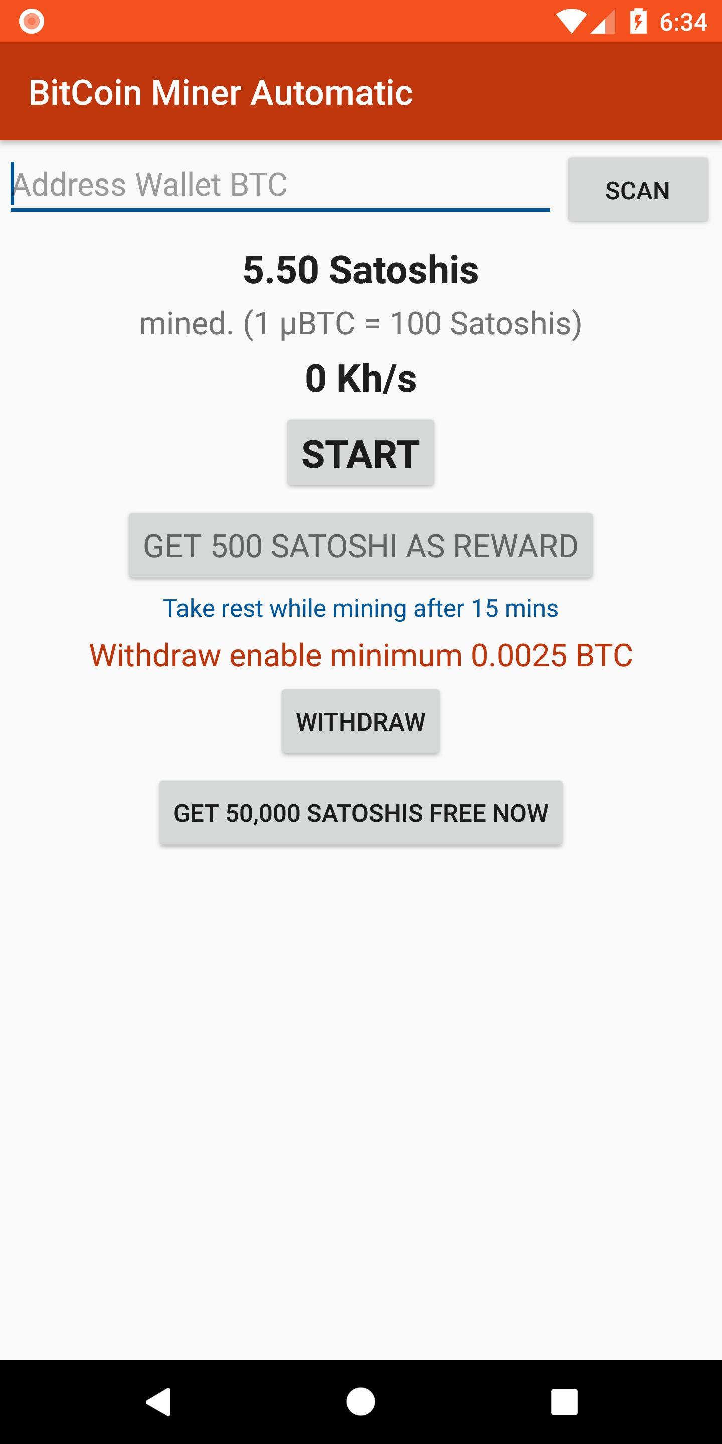 Bitcoin Miner Automatic - Earn free Bitcoins for Android - APK Download