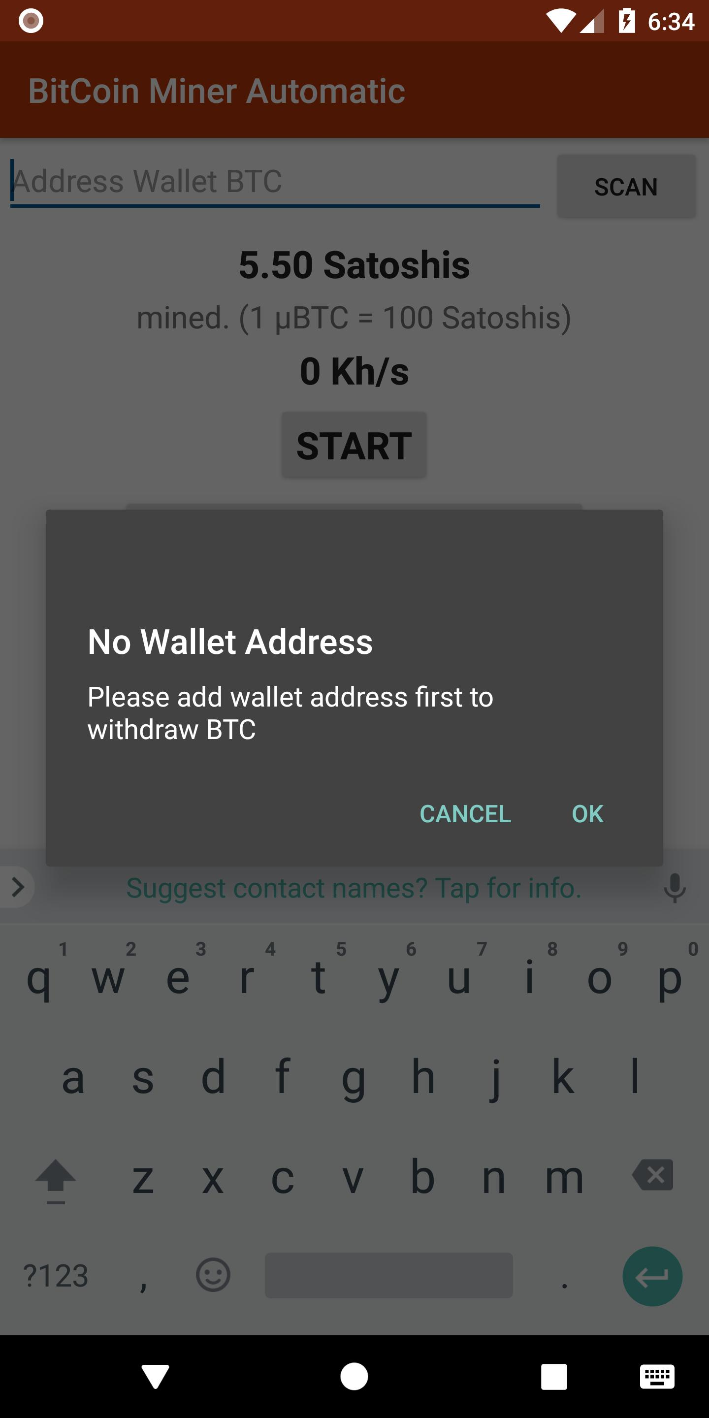 Bitcoin Miner Automatic Earn Free Bitcoins Fur Android Apk -