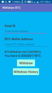 Simple BTC Miner screenshot 1