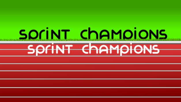Sprint Champions poster