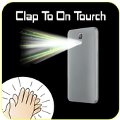 Clap to ON Torch Flash Light icon