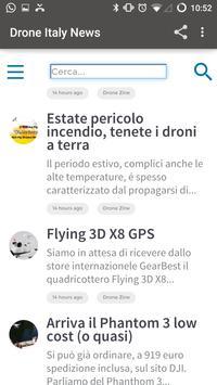 Drone Italy News screenshot 5
