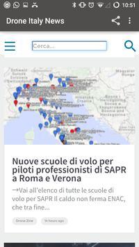 Drone Italy News screenshot 2