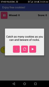 Cookie Catcher screenshot 3
