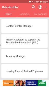 Bahrain Jobs apk screenshot