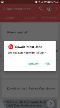Kuwait Jobs apk screenshot