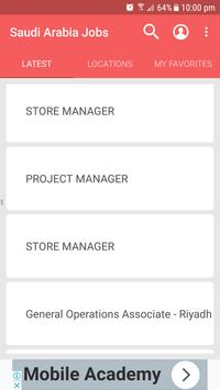Saudi Arabia Jobs screenshot 1