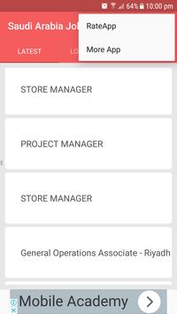Saudi Arabia Jobs screenshot 4