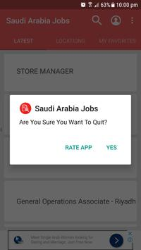 Saudi Arabia Jobs apk screenshot