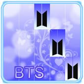 BTS KPOP Piano Tiles Game icon
