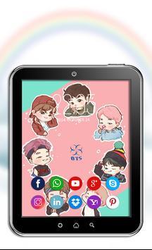 BTS K-POP Wallpaper screenshot 10