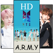 BTS Army Wallpapers KPOP HD Free icon