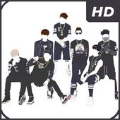BTS Wallpaper HD icon