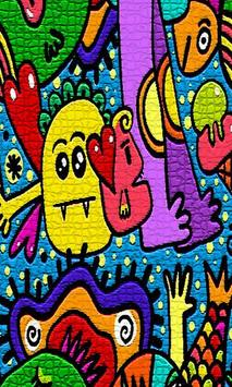 Grafitti Puzzle Wallpapers poster