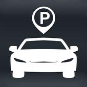 Car Positioning icon