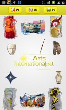 Arts International poster
