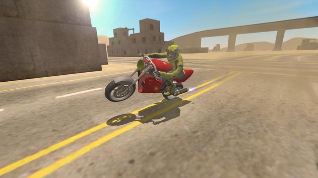 Bike Driving Simulator poster