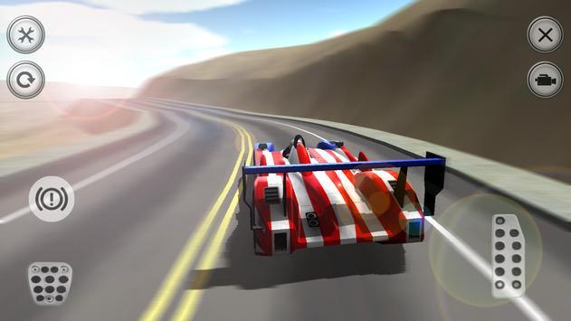 Challenge Car 3D screenshot 1