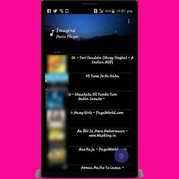 Imagine Music Player screenshot 2