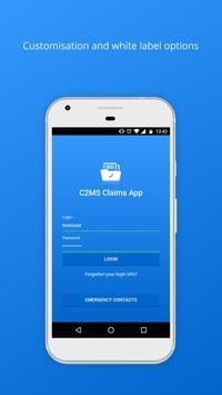 C2MS Claims Demo screenshot 1