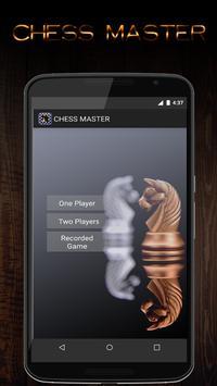 Chess Master - Schachspiel poster