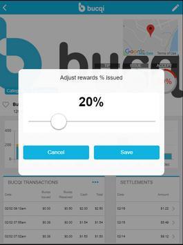 Bucqi Admin Portal screenshot 1
