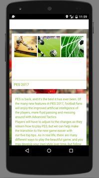 Strategy Tutorial Pes 2017 apk screenshot