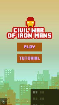 Running iron man: endless war! poster