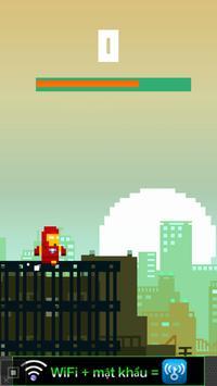 Running iron man: endless war! screenshot 3
