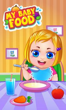 My Baby Food - Cooking Game poster