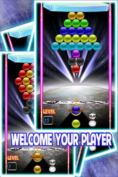 BubbleShooter New Year  HD 2018 Free poster