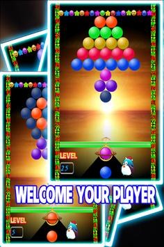 BubbleShooter New Year 2018 HD Free poster