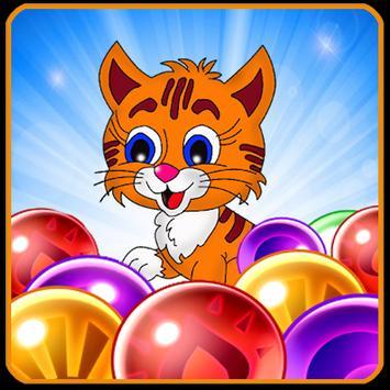 Bubble cat resque crush poster