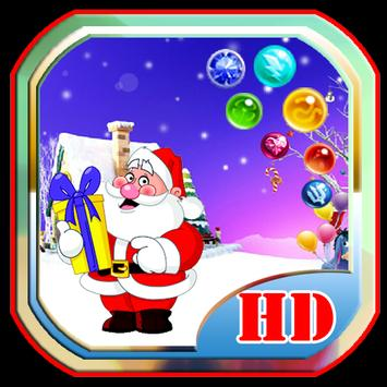 Bubble Christmas free poster