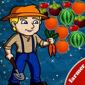 farmer Bubble Fruit 아이콘