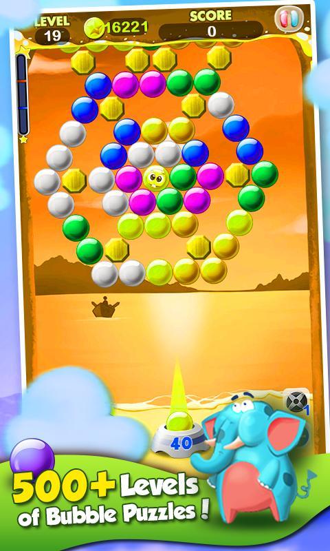 bubble shooter mod apk offline