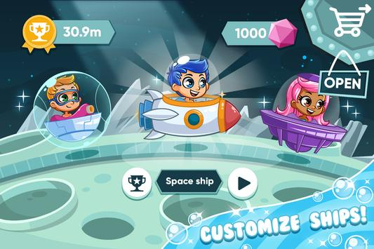 Incredible bubble space guppy screenshot 1