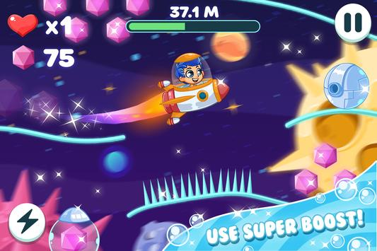 Incredible bubble space guppy screenshot 5