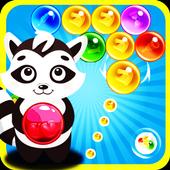 Raccoon Bubble Shooter icon