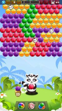 Raccoon Bubble Shooter screenshot 1