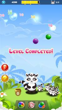 Raccoon Bubble Shooter screenshot 5