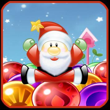 Bubble Santa Shooter Blast poster