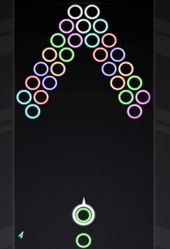 Neon Bubble Shooter screenshot 2