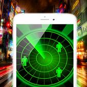 Ghost detect! Radar icon