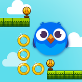 Bubble Bird Rolling icon